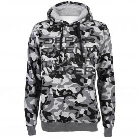 Herren Sweatshirt mit Camouflage Print