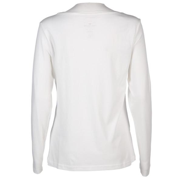 Damen Shirt mit effektvollem Glitzer Print
