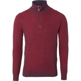 Herren Pullover in melierter Optik