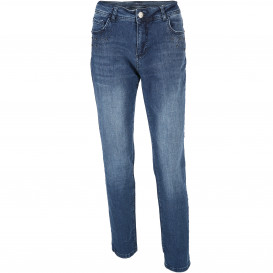 Damen Denim Jeans mit Glitzersteinchen