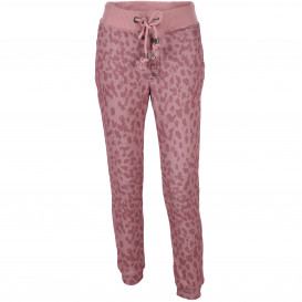 Damen Jogging Hose mit Animalprint