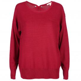 Damen Pullover mit kleiner Schleife im Nacken