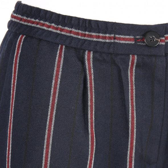 Damen Hose mit eleganten Streifen