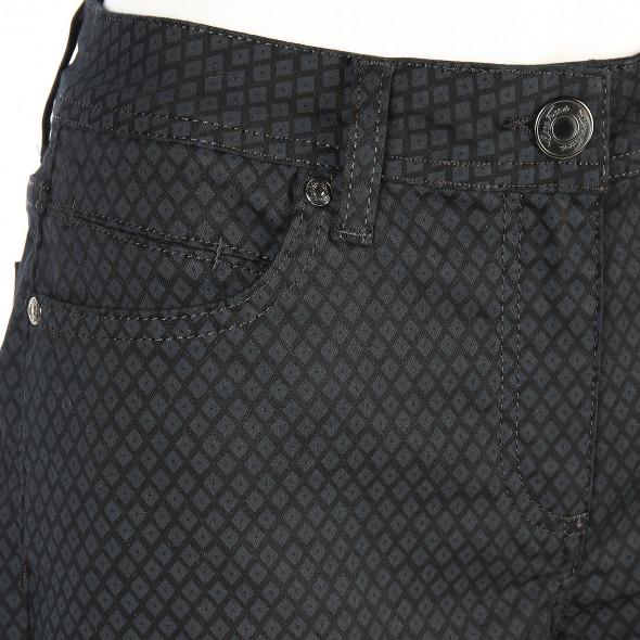 Damen Hose mit Musterung in Slim Fit