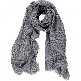Damen Schal mit effektvollem Muster