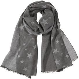 Damen Schal mit Sternenprint