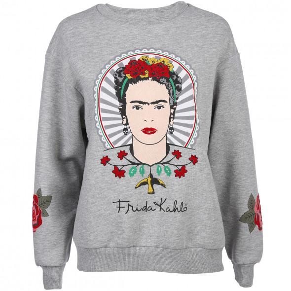 Damen Sweatshirt mit auffälligem Print