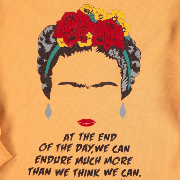 Damen Sweater mit dekorativem Print