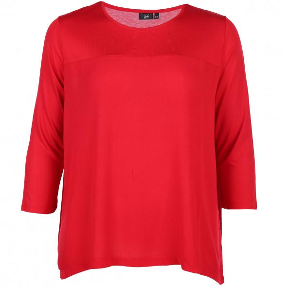 Große Größen Shirt im Materialmix