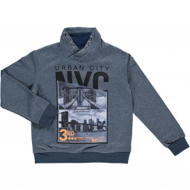Jungen Sweatshirt mit Frontprint