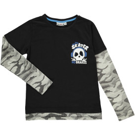 Jungen Shirt langarm 2in1 Look