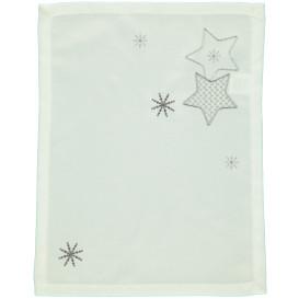 Platzdecke mit weihnachtlicher Stickerei 35x45cm