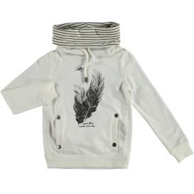 Hailys ELLENA Shirt mit Schlauchkragen und Kordelzug