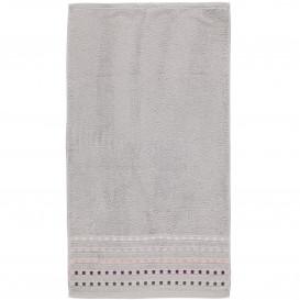 Handtuch mit Kästchenbordüre 50x90cm