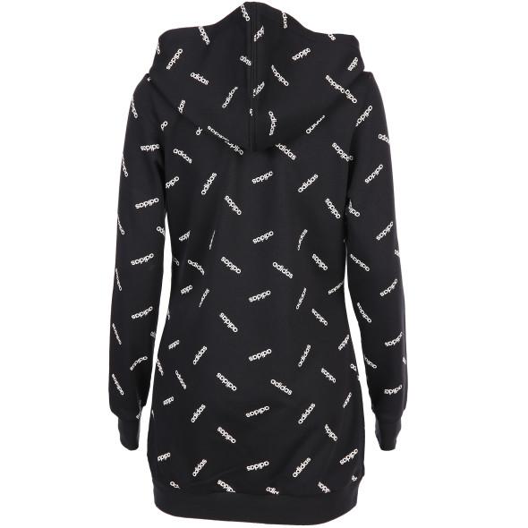 Damen Sweatshirt mit Allover-Print