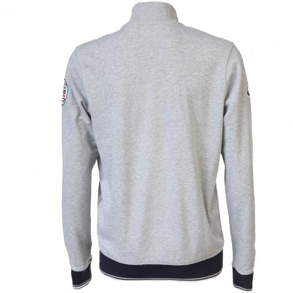 ebaf283c8084 Herren Sweatjacke mit Reißverschluss (Grau)   AWG Mode