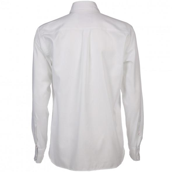 Herren Langarmhemd mit Button-Down-Kragen