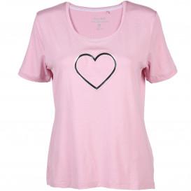 Damen Sport Shirt mit Präge Print
