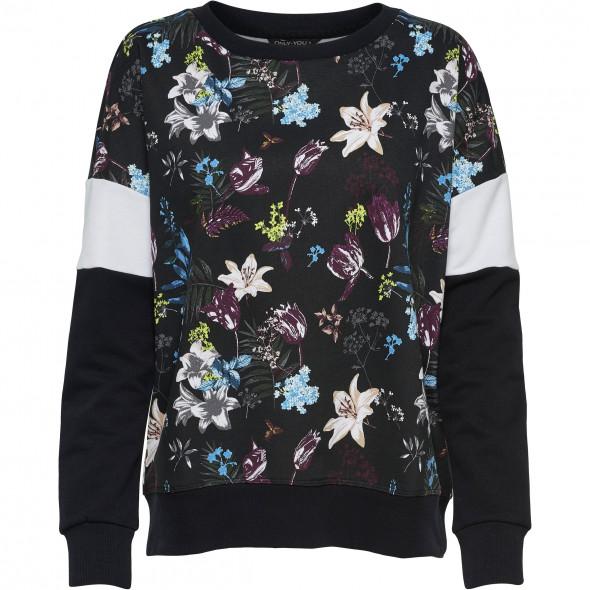 "Damen Sweatshirt  mit floralem Print ""Dorit"""