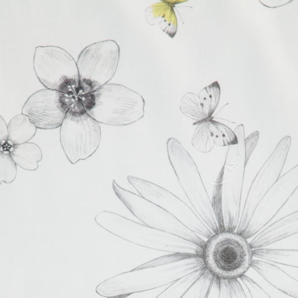 Mako-Satin Bettwäsche mit floralen Mustern200x200cm