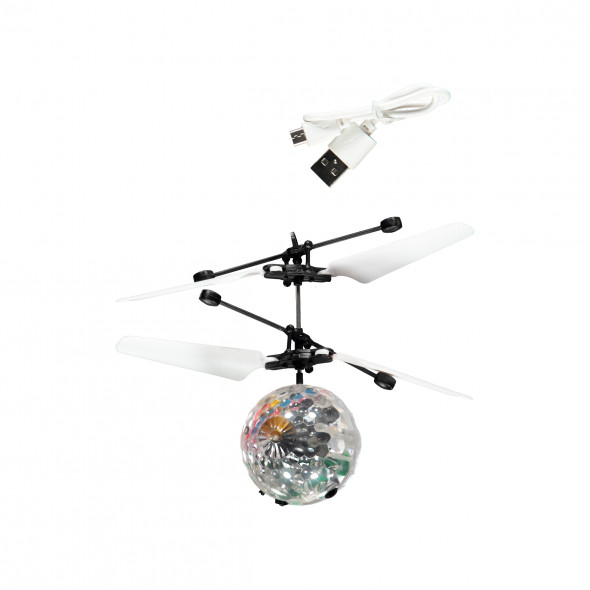 Flying Ball mit LED-Beleuchtung