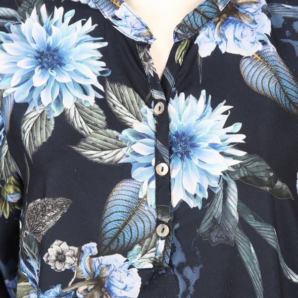 Damen Printbluse im Blumendessin