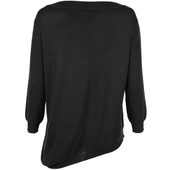 Hailys  CAROL Pullover mit schrägem Saum