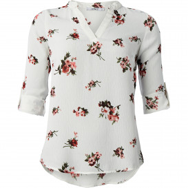 Damen Bluse mit Allover-Print