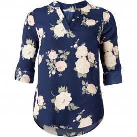 Damen Bluse mit Allover-Blütenprint