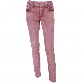 Damen Jeans in Used Optik