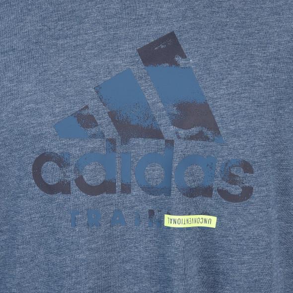 Herren Shirt mit Logoprint