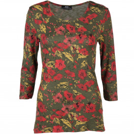 Damen Shirt im Alloverprint