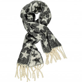 Damen Schal mit Sternen Motiv