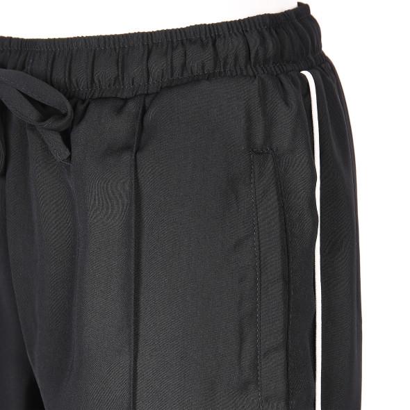 Damen Hose mit Paspelstreifen