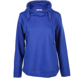 Damen Sweatshirt mit überlappendem Kragen