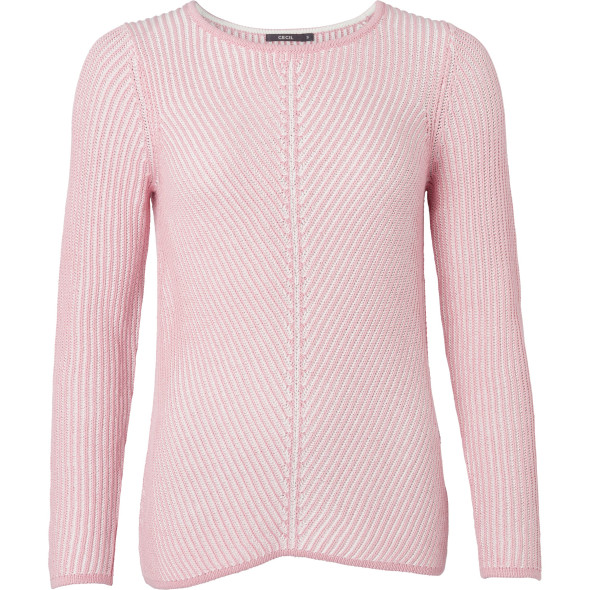 Damen Sweater in Rippoptik