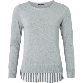 Vielseitiger Damen Two in one Pullover