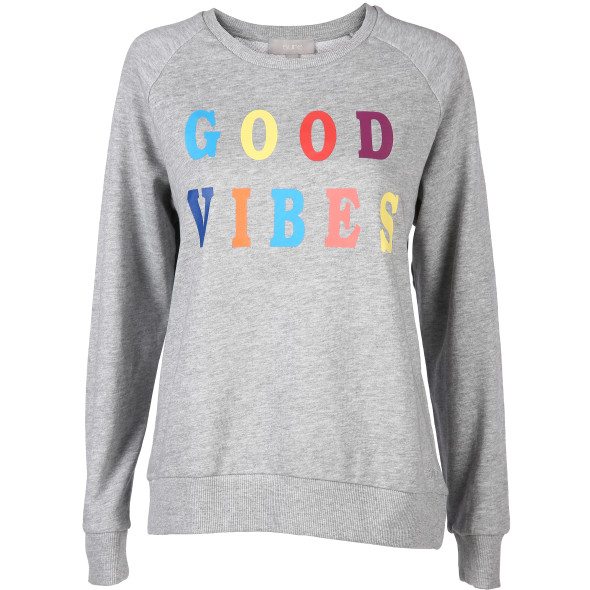 Damen Sweatshirt mit Schriftprint