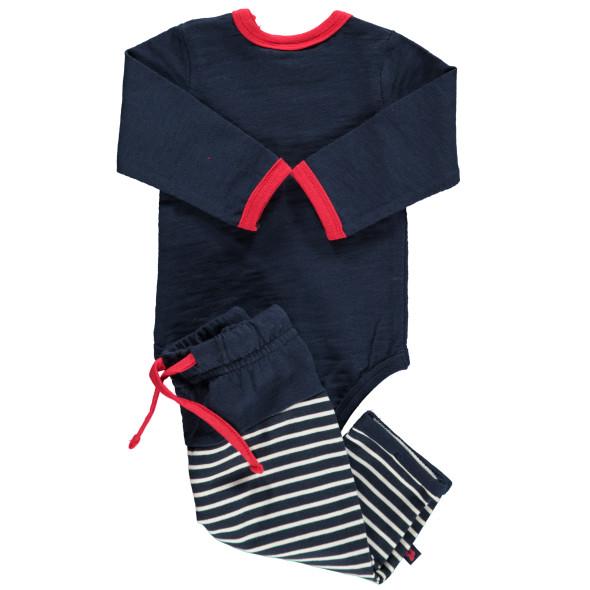 Baby Set 3tlg. bestehend aus Body, Hose und Halstuch