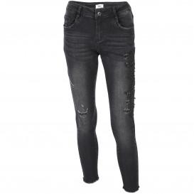 Damen Jeans mit Perlen und Pailletten