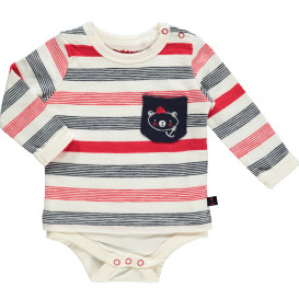Baby Sweatshirt im 2in1 Look