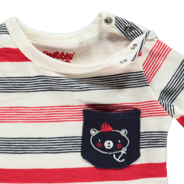 Baby Sweatshirt im 2in1 Look