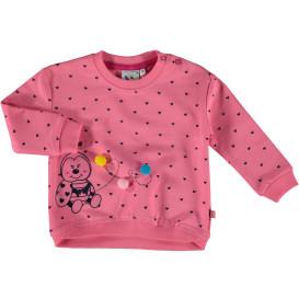 Mädchen Sweatshirt mit Front Print