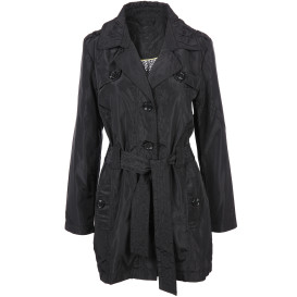 Damen Trenchcoat in glänzender Optik