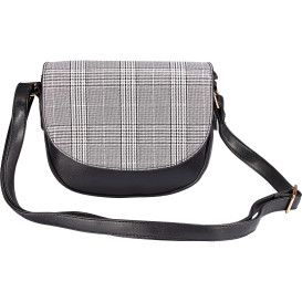 Damen Handtasche DIANA in Tartan-Optik