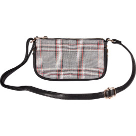Damen Handtasche ALEXA in Tartan-Optik