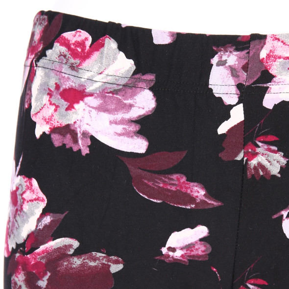 Damen Legging mit floralem Print