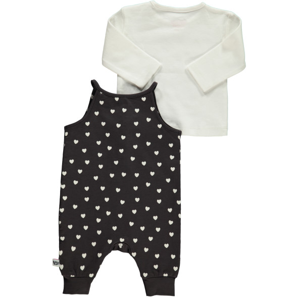 Baby Strampler Set 2tlg. mit Allover Print