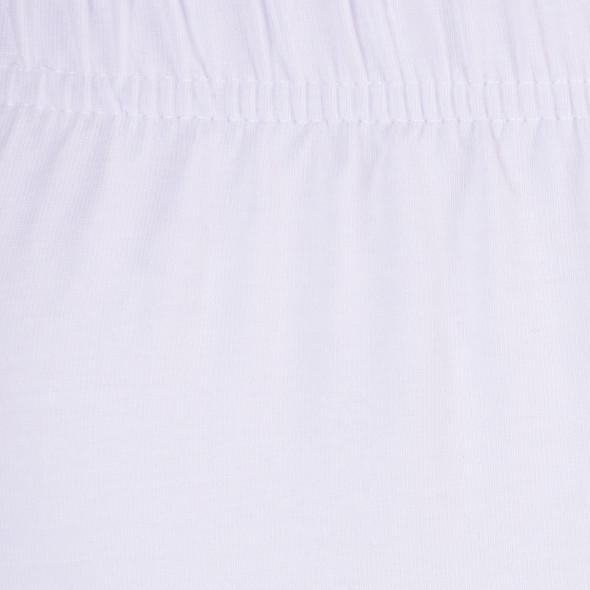 Damen Capri Leggings mit Mausezähnchenbordüre