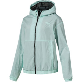 Damen Windbreaker mit Logoprint